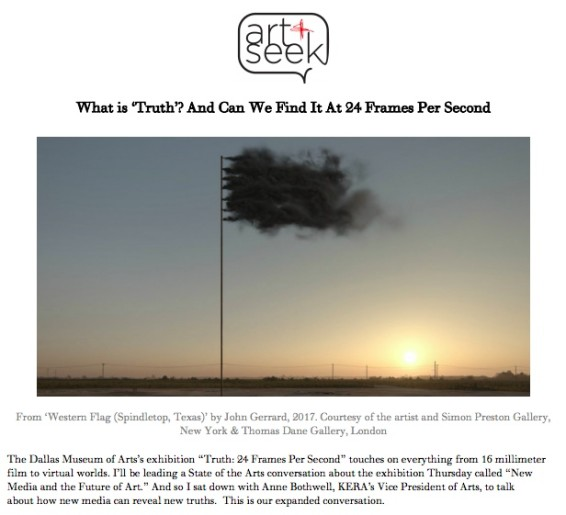 What Is 'Truth'? And Can We Find It At 24 Frames Per Second?