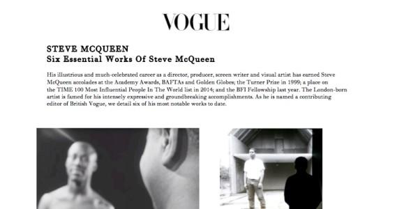 Six Essential Works of Steve McQueen