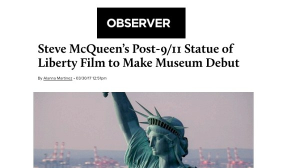 Steve McQueen's Post-9/11 Statue of Liberty Film to Make Museum Debut