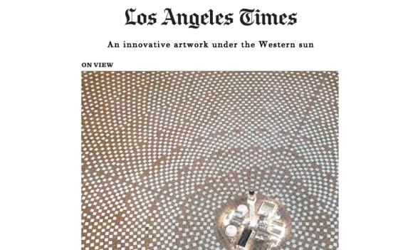 An innovative artwork under the Western sun