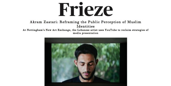 Akram Zaatari: Reframing the Public Perception of Muslim Identities