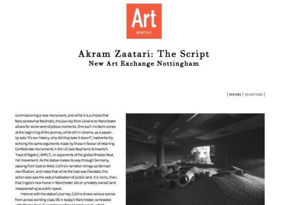 Akram Zaatari: The Script