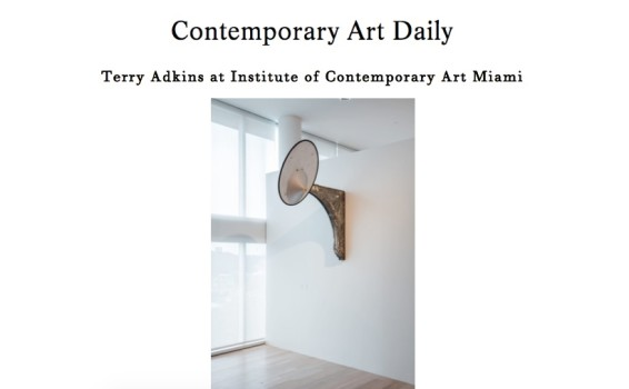 Terry Adkins at Institute of Contemporary Art Miami