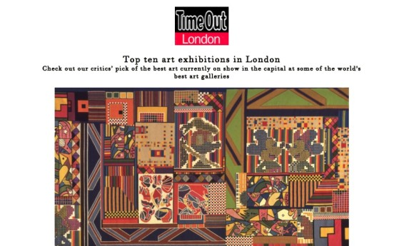 Top ten art exhibitions in London