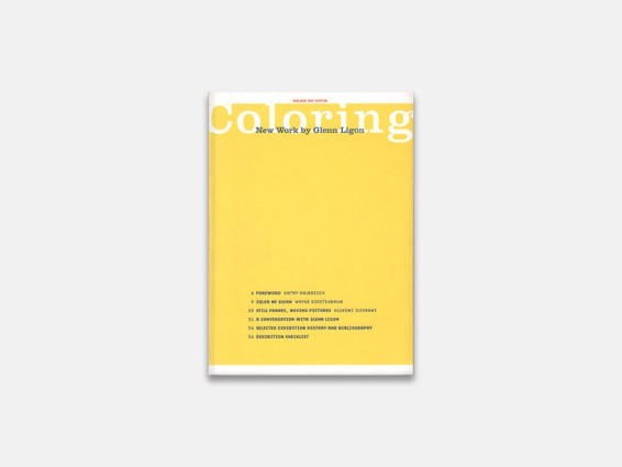 Coloring: new work by Glenn Ligon