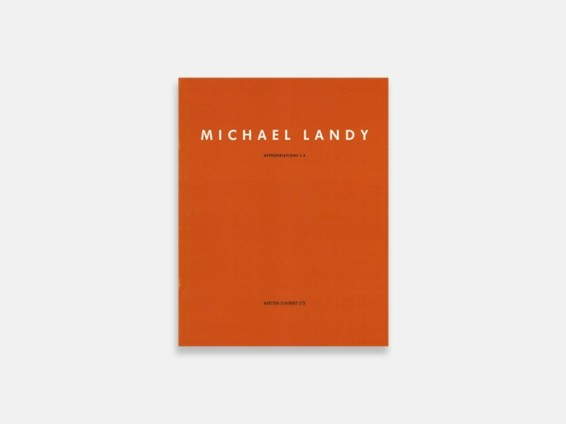 Michael Landy: Appropriations 1-4