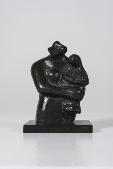 Half-Figure: Mother and Child, 1983