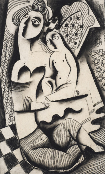 Mother and Child, c. 1923-24