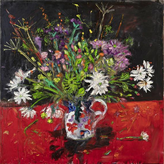 Flowers in a Gaudy Jug, 2021