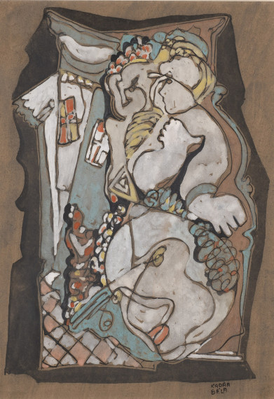 Face and Figures, c. 1940