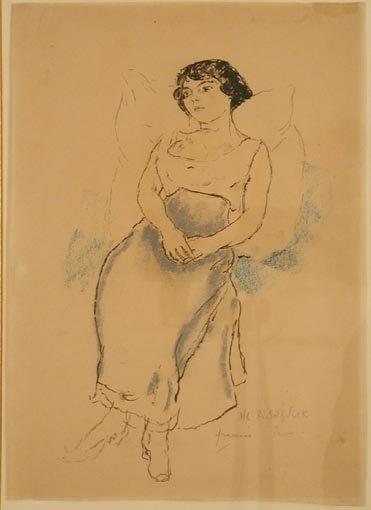 Portrait de jeune fille, 1908