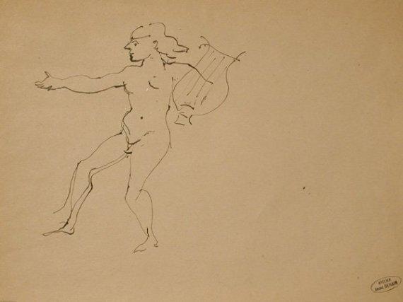 Homme dansant