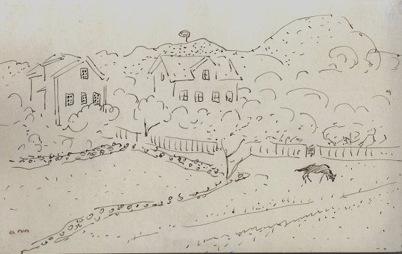 Maisons dans la campagne, c.1932-36