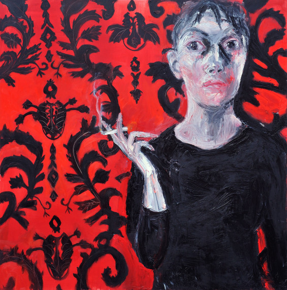 Woman Smoking, 2011