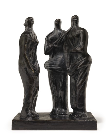 Three Standing Figures, 1945