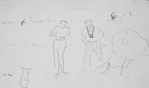 Sur la plage, c.1932-6