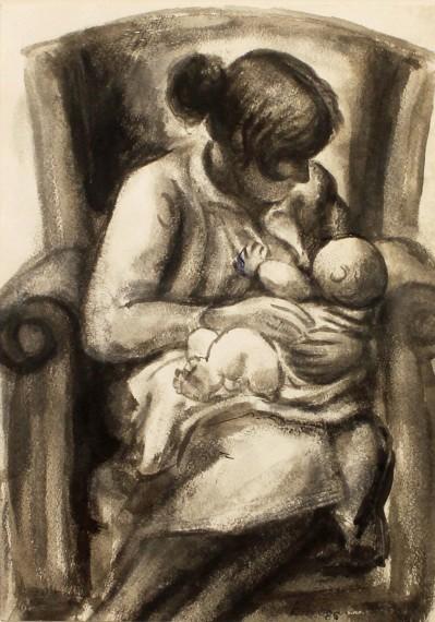 Mère et enfant, 1986