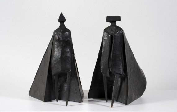 Walking Cloaked Figures VI, 1980