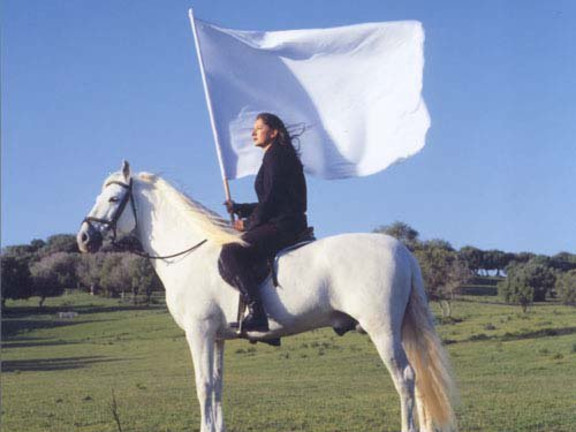 Marina Abramovic - The Hero (for Antonio), 2001