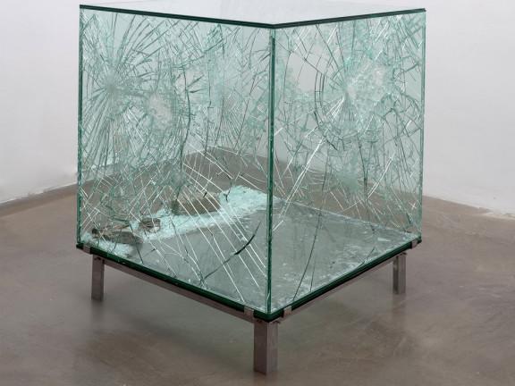 Sarah van Sonsbeeck - One cubic meter of broken silence, 2009