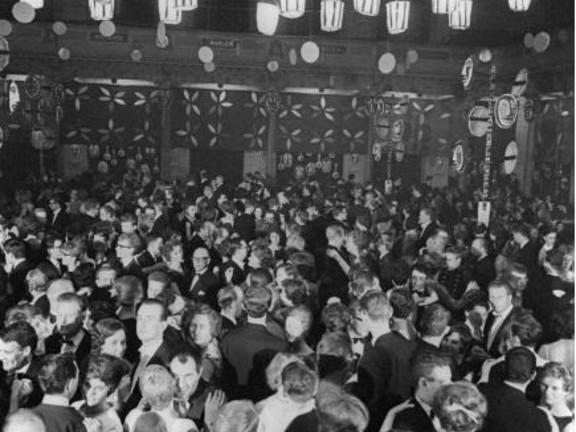 Boekenbal, Amsterdam, 1962