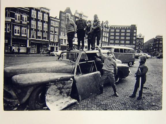 Nieuwmarkt, Amsterdam, 1963