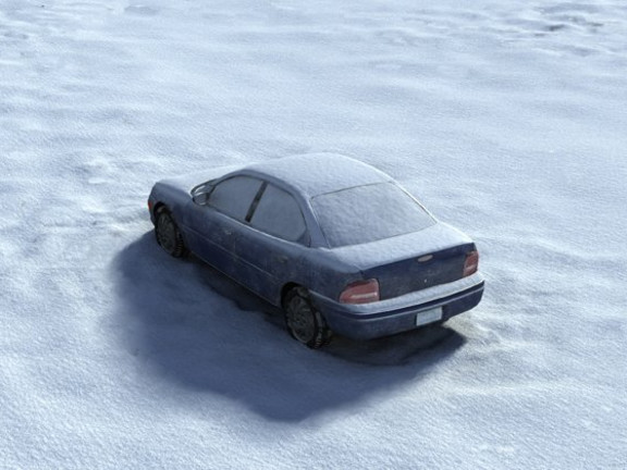Is this Guilt in You Too - (The Study of a Car in a Field), 2005