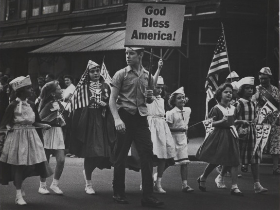 Labour Day parade, New York, 1961