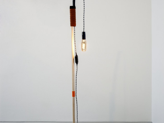 A lamp made by the artist for his wife (Eighth attempt), 2013