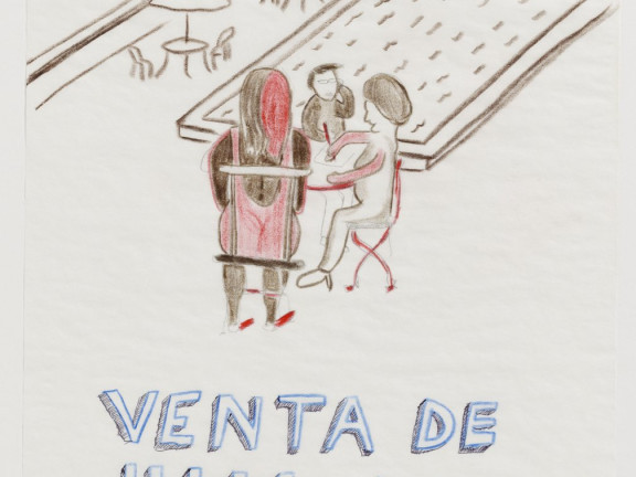 Venta de hija por madre ( the selling of the daughter by the mother), 2008