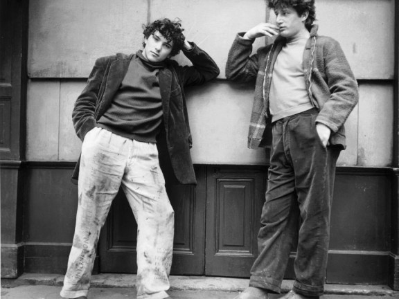Jean Michel and Freddy, Paris, 1951