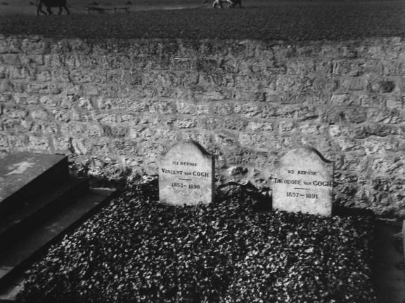 Auvers-sur-Oise, the Grave of Vincent Van Gogh, 1950