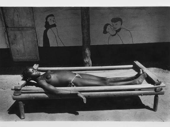 Banda woman, french Equatorial Africa Oubangui Chari, 1957