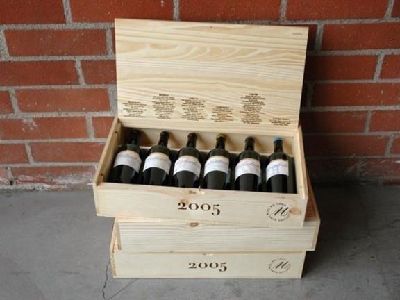 Motherlode Zinfandel (Olive Block Old Vine, Bedrock Vineyard Old Vine, Lumetta Vineyard, Seghesio Home Ranch, Porter Vineyard Old Vine, Sonoma County Appellation Blend), 2005-2007