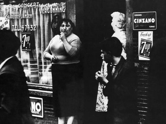 Oudezijds Achterburgwal, Amsterdam, 1956