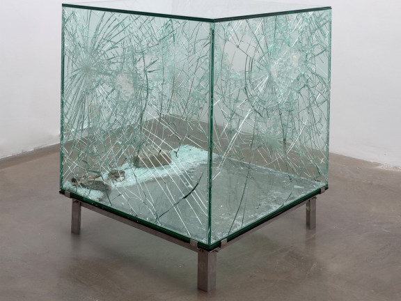 One cubic meter of broken silence, 2009
