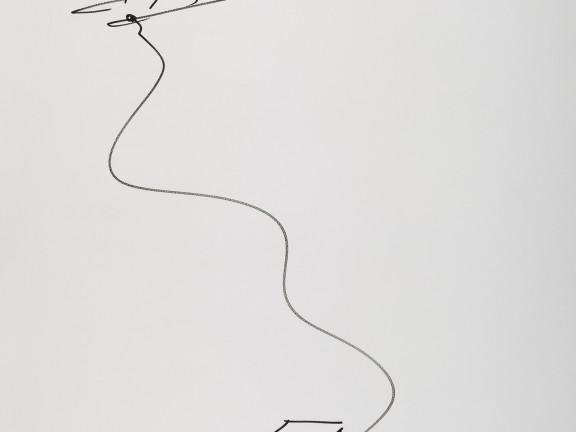 Amarrado a la pata de la mesa II, 2011