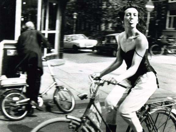 Amsterdam, Oude Hoogstraat, 1983