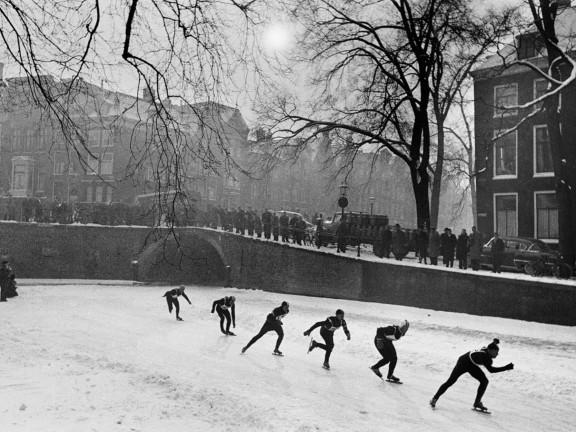 Herengracht, Amsterdam, February 1956