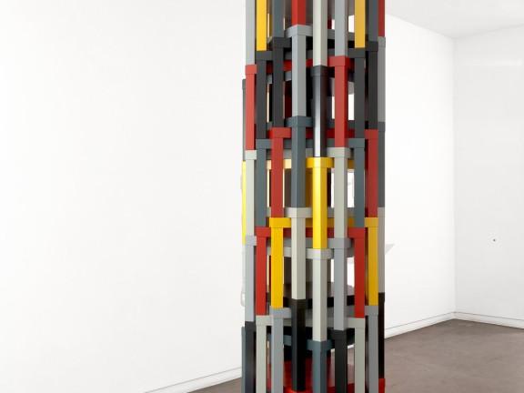 Samson's push, or No. VI / Composition No.II, 2011