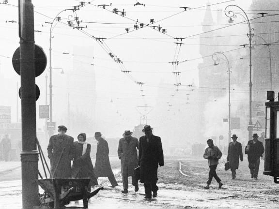 Stationsplein, Amsterdam, 1956 ca.