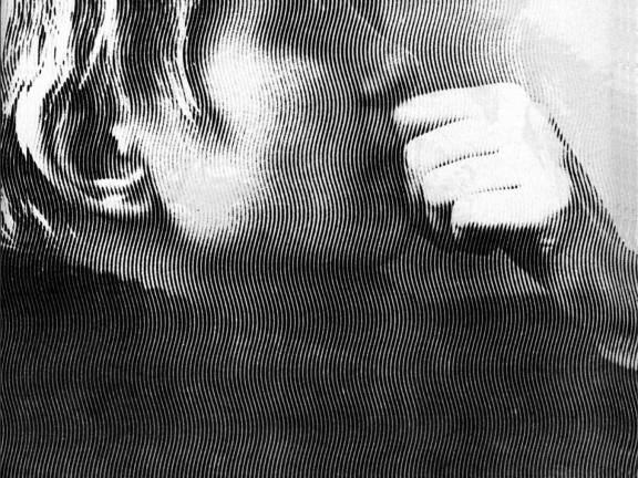 Armando Andrade Tudela - Untitled #6 (transparent film and magazine cut), 2007-2008