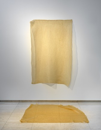 One bar of gold, tapestry #2, 2016