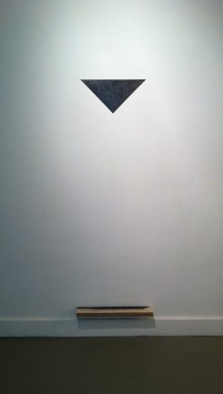 Untitled (mirror object), 2012