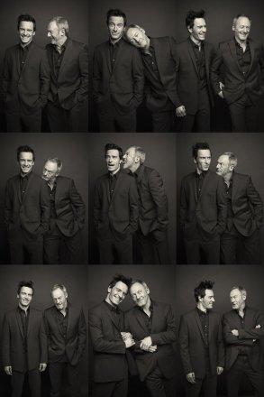 Michael Fassbender & Liam Cunningham I