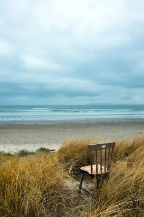 Bull Island Chair - Waiting for the Return
