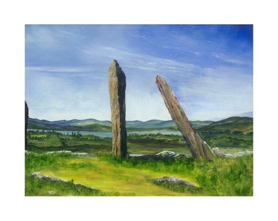 Terence O'Donnell - Standing Stones at Lehid (Tuosist)