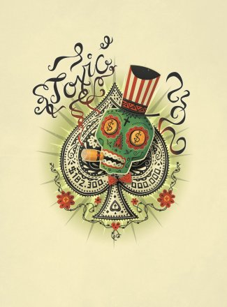 Toxic Ace of Spades