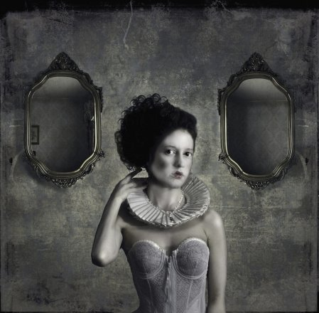 Girl with Two Mirrors