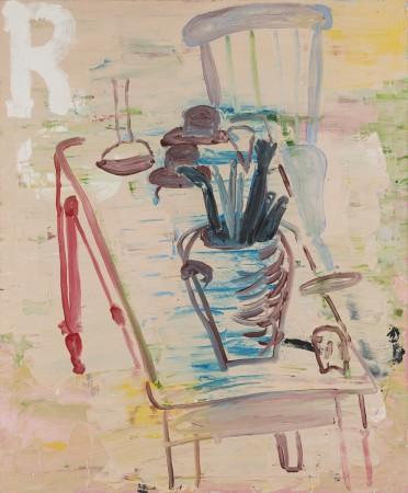 Roy Oxlade, Red Leg, 2001